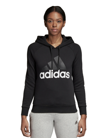 Adidas Essential Linear Fleece Hoodie - Black - Active Style