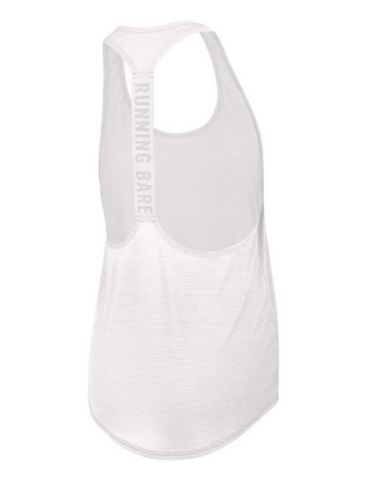 Running Bare - Tempest Workout Tank White
