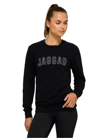 Jaggad Akuro Crew Neck Sweater - Black - Active Style