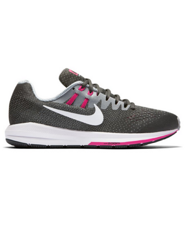 Nike Air Zoom Structure 20 - Grey/Pink - Active Style