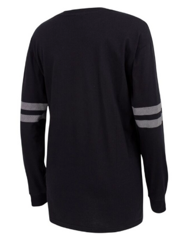 Running Bare - X Over Long Sleeve Crew Tee