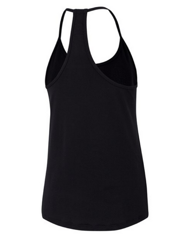 Running Bare - No Sweat Tank Black