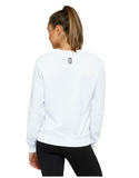 Jaggad Akuro Crew Neck Sweat- White - Jaggad Akuro Crew Neck Sweat- White