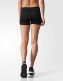 Adidas TechFit 3 Inch Short - Black - Adidas TechFit 3 Inch Short - Black