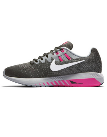 Nike Air Zoom Structure 20 - Grey/Pink