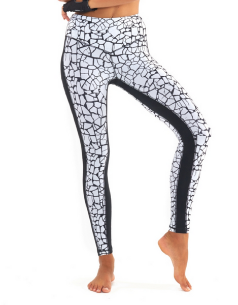 L'urv - Work it Out Legging White - Active Style