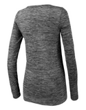 Running Bare - Forever Seamless Tee Grey Marle - Running Bare - Forever Seamless Tee Grey Marle