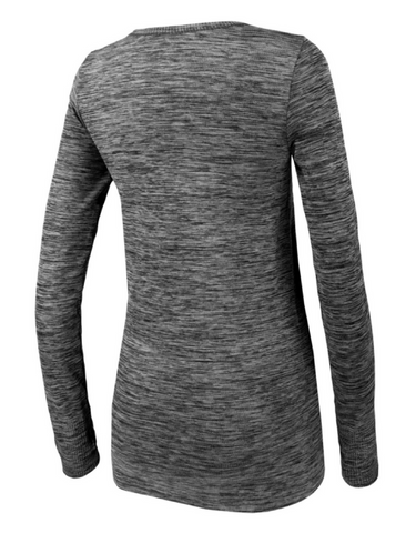 Running Bare - Forever Seamless Tee Grey Marle