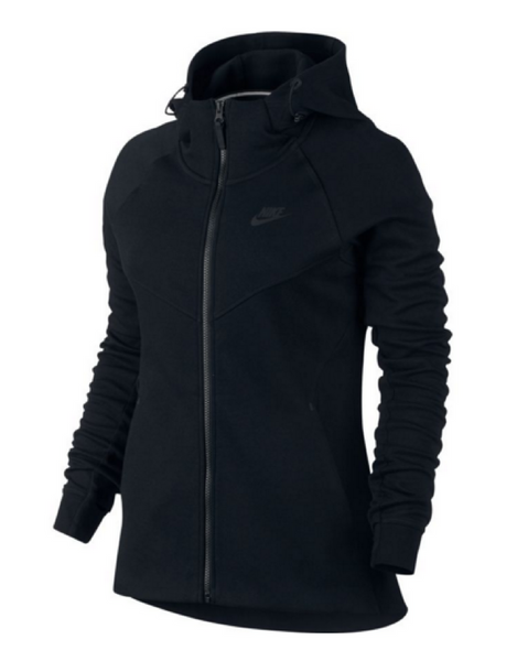 Nike - Sportswear Tech Fleece Hoodie - Black - Active Style