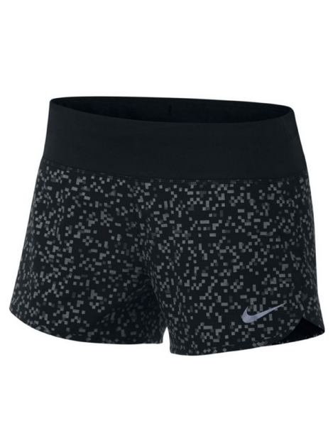 Nike - Flex 3' Printed Running Short- Black - Active Style