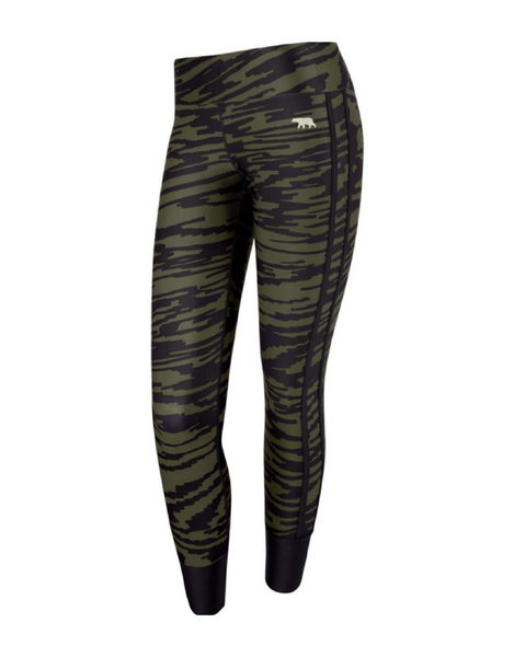Running Bare - Femme Fatal Full Length Tight - Active Style