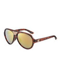 Flight Active Eyewear - Aviator Tortoise Mirror - Flight Active Eyewear - Aviator Tortoise Mirror
