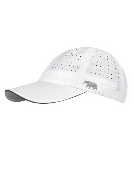 Running Bare Mesh Up Running Cap - White - Active Style