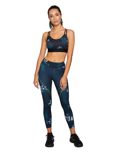 Jaggad Alpine Floral 7/8 Tight - Active Style