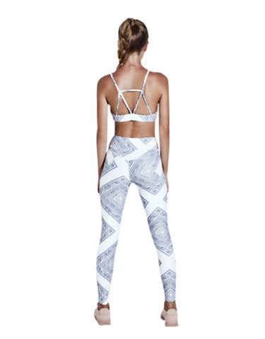 Arcadia Movement - Vault Chief Leggings White