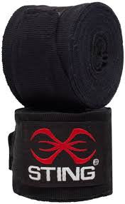Sting Hand Wraps - Red or Black - Active Style