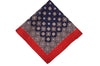 Alcester Red Wool Pocket Square