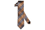 Alliance Orange Silk Tie