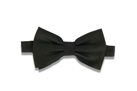 Aristocrat Black Silk Bow Tie