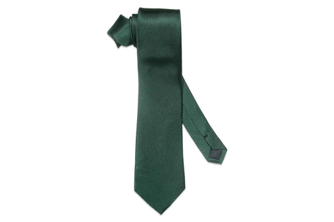 Aristocrat Green Silk Tie