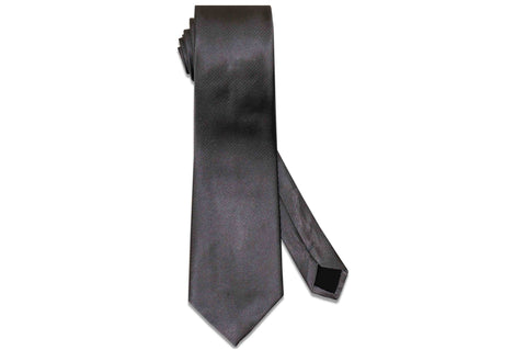 Aristocrat Grey Silk Tie