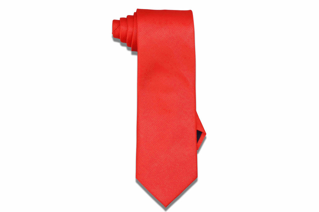 Aristocrat Orange Tie