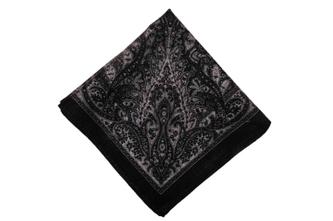 Ashburn Night Wool Pocket Square