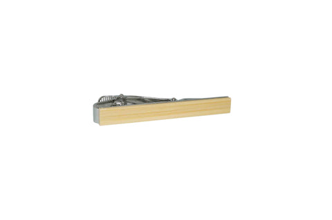 Bamboo Wood Tie Bar