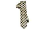 Bee Stripes Silk Skinny Tie