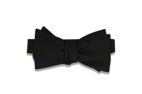 Black Bow Tie (Self-Tie)