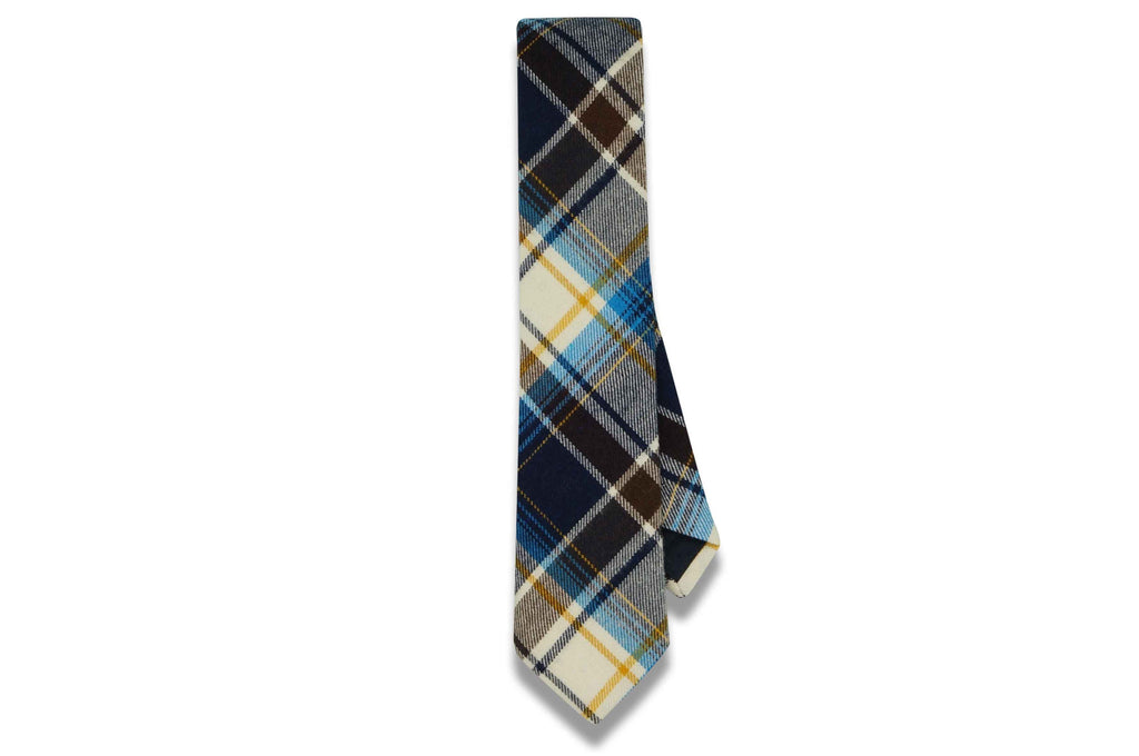 Blake Brown Cotton Skinny Tie