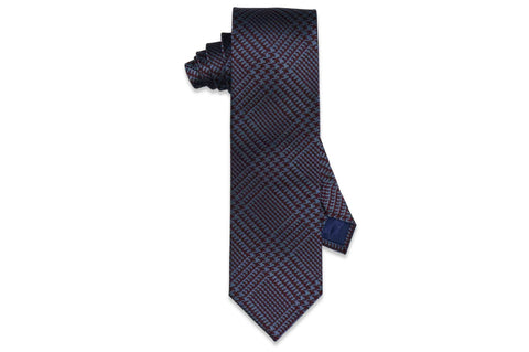 Block Stripes Silk Tie