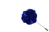 Blue Lap Lapel Flower