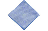 Blue Purple Linen Pocket Square