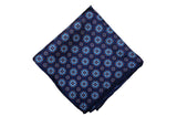 Blue Wonder Silk Pocket Sqaure
