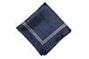 Blue Faze Silk Pocket Square