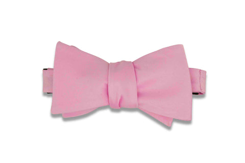 Blush Pink Bow Tie (Self-Tie)