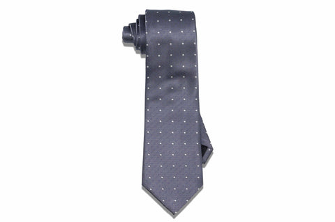 Braxton Double Dotted Silk Tie