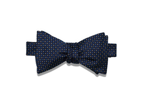 Bright Night Silk Bow Tie (self-tie)