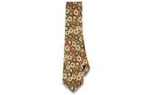Brownfield Flowers Cotton Skinny Tie