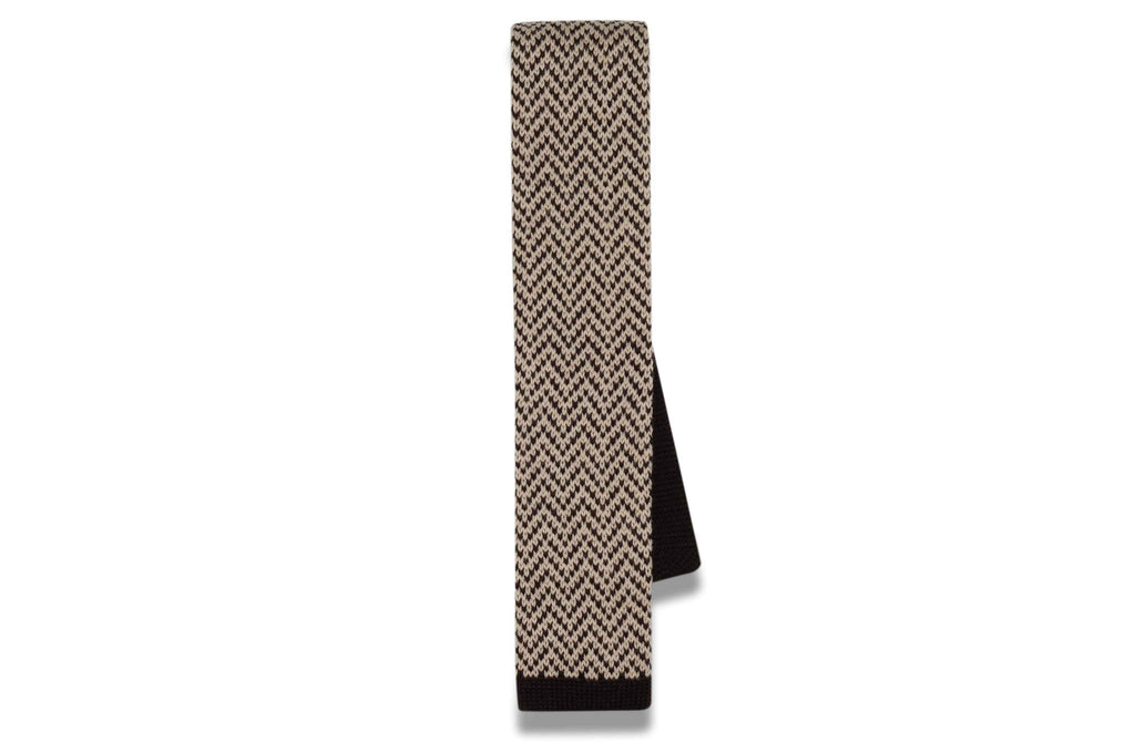 Brownie Points Knitted Skinny Tie