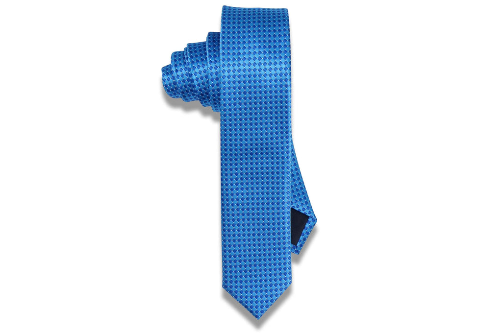 Bubble Guppy Blue Skinny Tie
