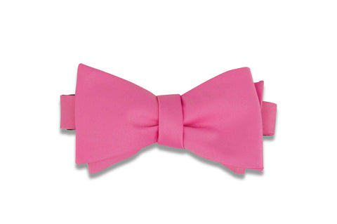Bubble Gum Pink Bow Tie (Self-Tie)