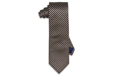 Bumble Gold Silk Tie