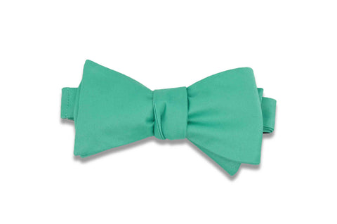 Cabana Green Bow Tie (Self-Tie)