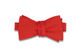 Candy Apple Red Bow Tie (Self-Tie)