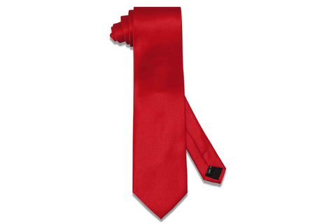 Candy Apple Red Tie