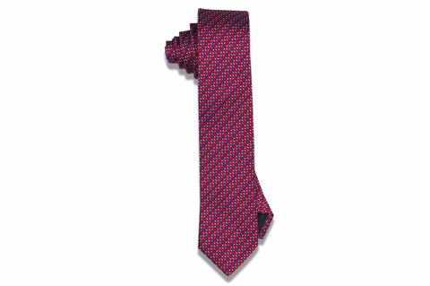 Colour Pop Silk Skinny Tie
