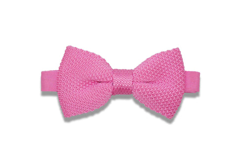 Cotton Candy Knitted Bow Tie (pre-tied)