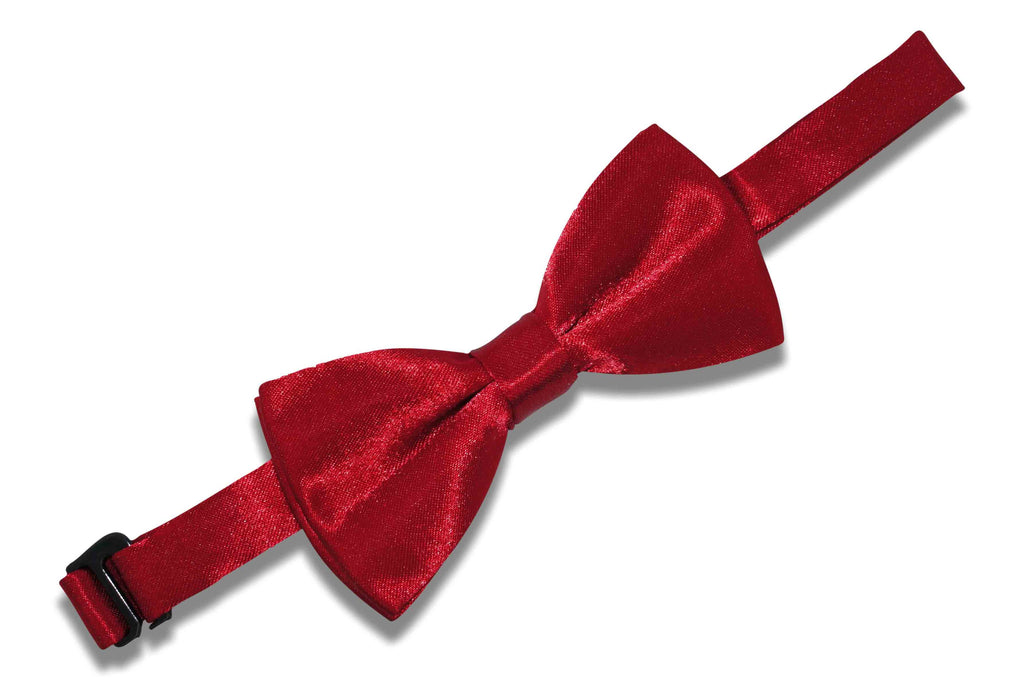 Crimson Red Bow Tie (Boys)